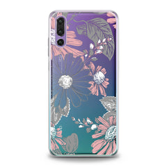 Lex Altern TPU Silicone Huawei Honor Case Floral Printed Pattern