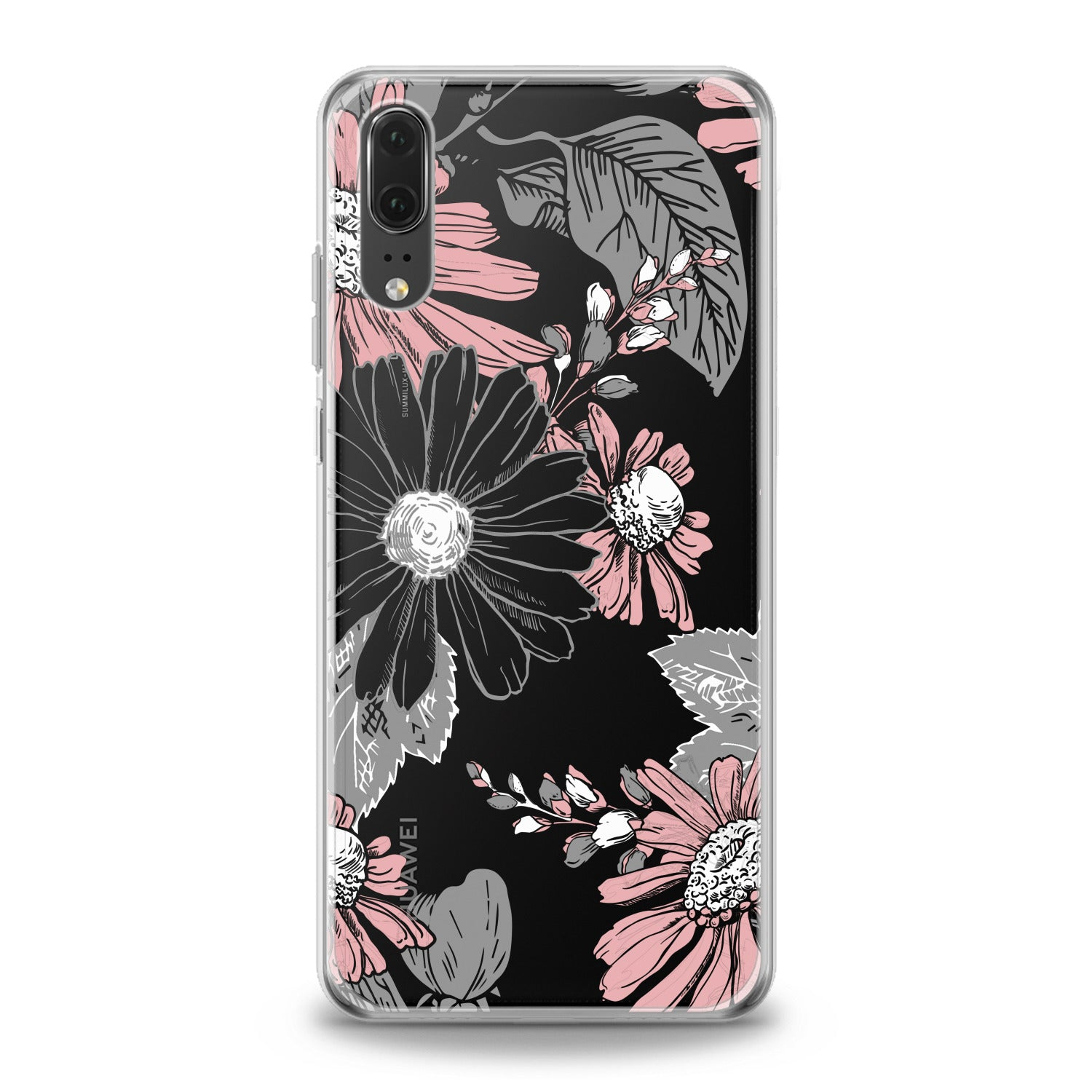 Lex Altern Floral Printed Pattern Huawei Honor Case