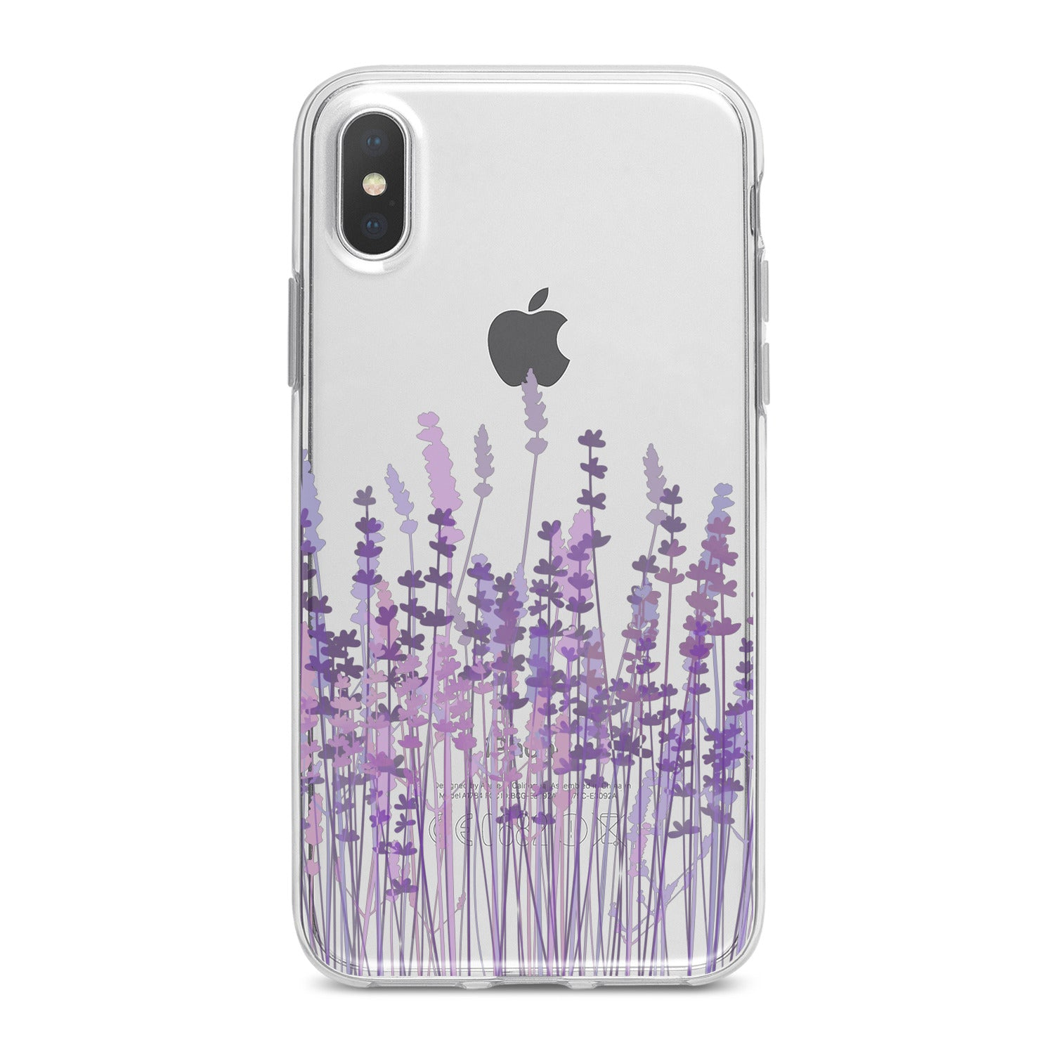 Lex Altern Cute Lavender Blossom Phone Case for your iPhone & Android phone.