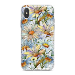 Lex Altern Watercolor Daisies Phone Case for your iPhone & Android phone.