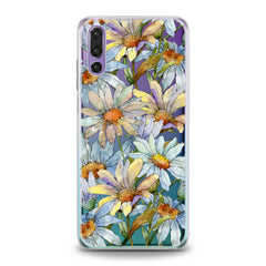 Lex Altern Watercolor Daisies Huawei Honor Case