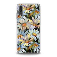 Lex Altern TPU Silicone Huawei Honor Case Watercolor Daisies