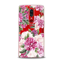 Lex Altern TPU Silicone OnePlus Case Awesome Peonies Pattern