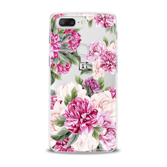 Lex Altern Awesome Peonies Pattern OnePlus Case