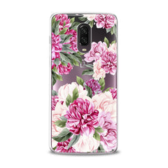 Lex Altern TPU Silicone Phone Case Awesome Peonies Pattern