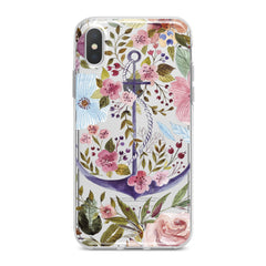 Lex Altern Beautiful Floral Anchor Phone Case for your iPhone & Android phone.