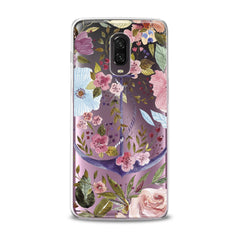 Lex Altern TPU Silicone Phone Case Beautiful Floral Anchor