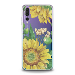 Lex Altern TPU Silicone Huawei Honor Case Watercolor Sunflower