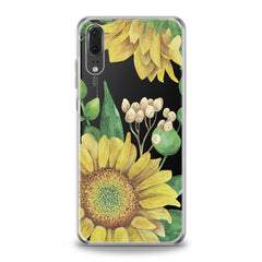 Lex Altern Watercolor Sunflower Huawei Honor Case