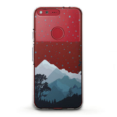 Lex Altern TPU Silicone Phone Case Watercolor Mountains