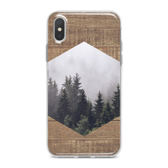 Lex Altern Geometric Forest Pattern Phone Case for your iPhone & Android phone.
