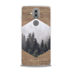Lex Altern TPU Silicone Phone Case Geometric Forest Pattern