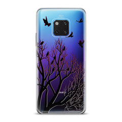 Lex Altern TPU Silicone Huawei Honor Case Flock of Ravens