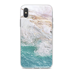 Lex Altern Sea Marble Pattern Phone Case for your iPhone & Android phone.