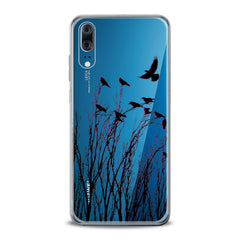 Lex Altern TPU Silicone Huawei Honor Case Amazing Raven Pattern