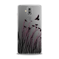 Lex Altern TPU Silicone Phone Case Amazing Raven Pattern