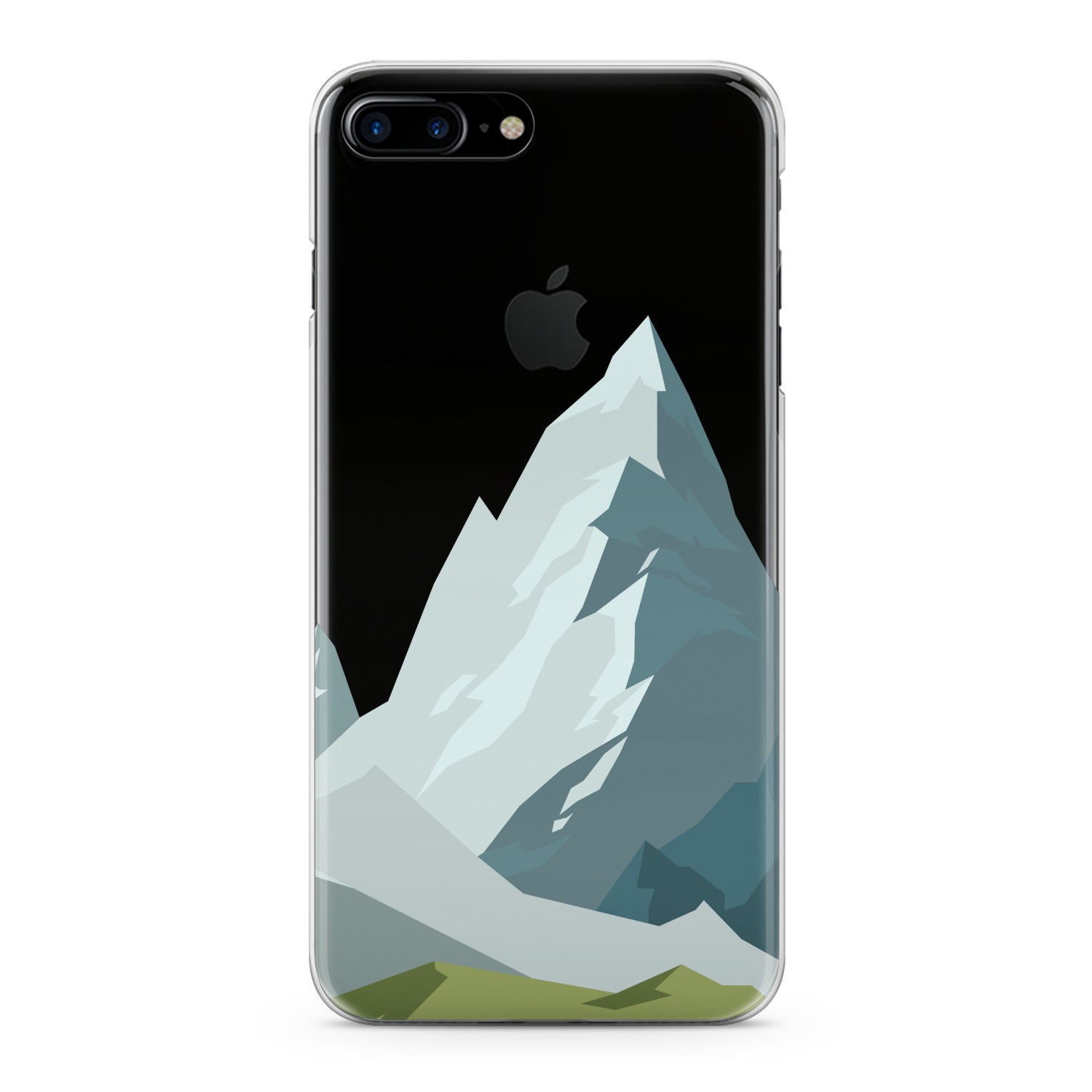 Lex Altern Mountain Abstract Pattern Phone Case for your iPhone & Android phone.