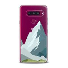 Lex Altern TPU Silicone Phone Case Mountain Abstract Pattern