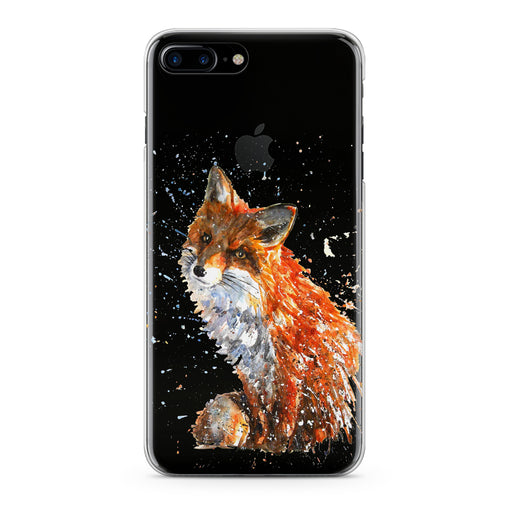Lex Altern Painted Fox Theme Phone Case for your iPhone & Android phone.