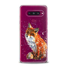 Lex Altern TPU Silicone Phone Case Painted Fox Theme