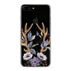 Lex Altern Floral Antlers Art Phone Case for your iPhone & Android phone.