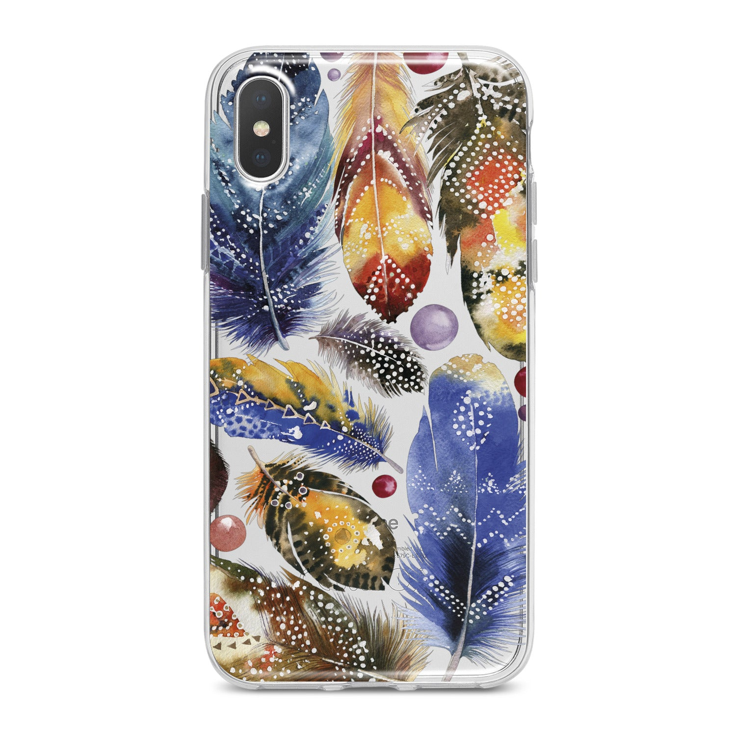 Lex Altern Bright Feather Theme Phone Case for your iPhone & Android phone.