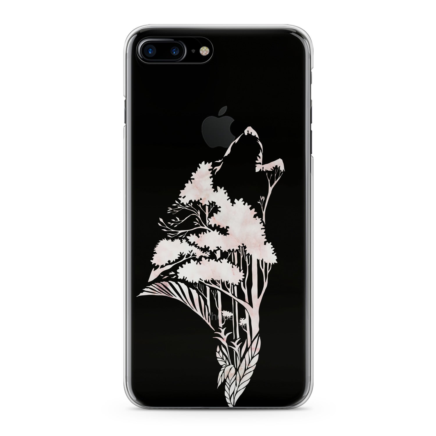 Lex Altern Floral Wolf Phone Case for your iPhone & Android phone.
