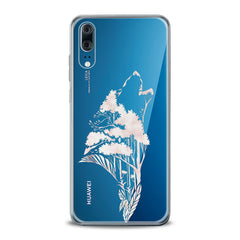 Lex Altern TPU Silicone Huawei Honor Case Floral Wolf