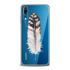 Lex Altern TPU Silicone Huawei Honor Case Elegant Feather Theme