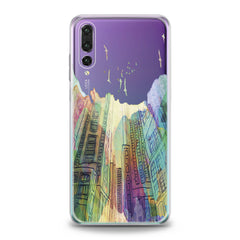 Lex Altern Watercolor City Huawei Honor Case