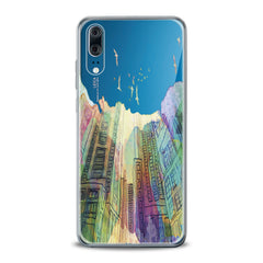 Lex Altern TPU Silicone Huawei Honor Case Watercolor City