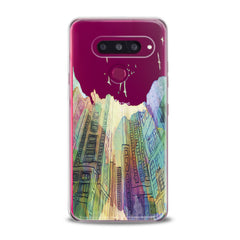 Lex Altern TPU Silicone Phone Case Watercolor City