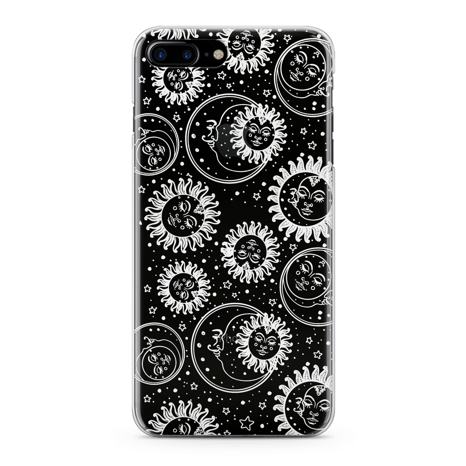 Lex Altern White Celestial Pattern Phone Case for your iPhone & Android phone.
