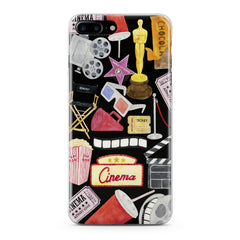Lex Altern TPU Silicone Phone Case Cinema Pattern