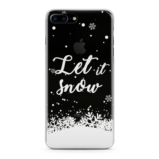 Lex Altern Snowy Quote Theme Phone Case for your iPhone & Android phone.