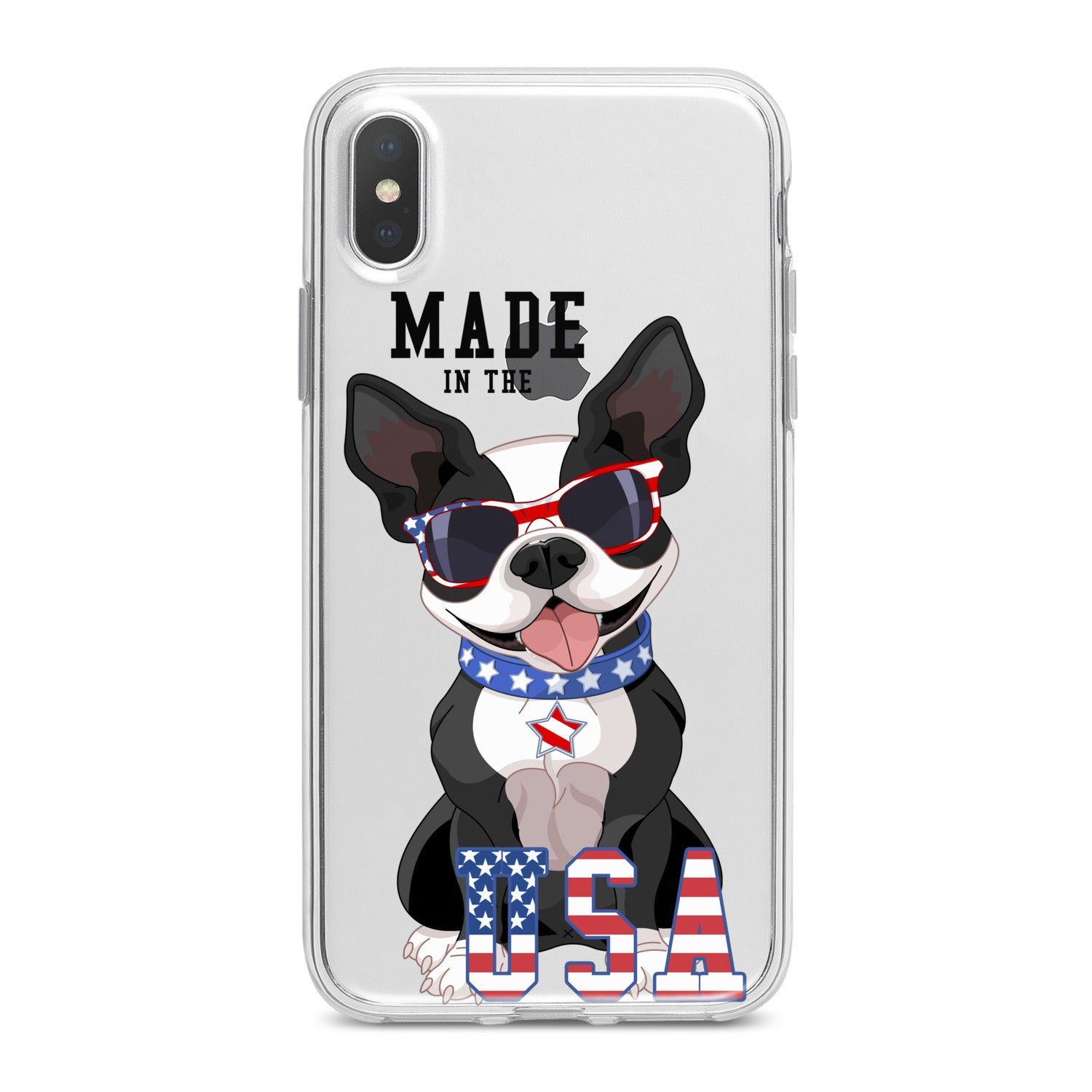 Lex Altern Quote Usa Bulldog Phone Case for your iPhone & Android phone.