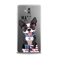 Lex Altern TPU Silicone Phone Case Quote USA Bulldog