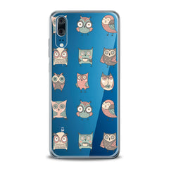 Lex Altern TPU Silicone Huawei Honor Case Adorable Owls