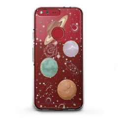 Lex Altern TPU Silicone Phone Case Shiny Planets