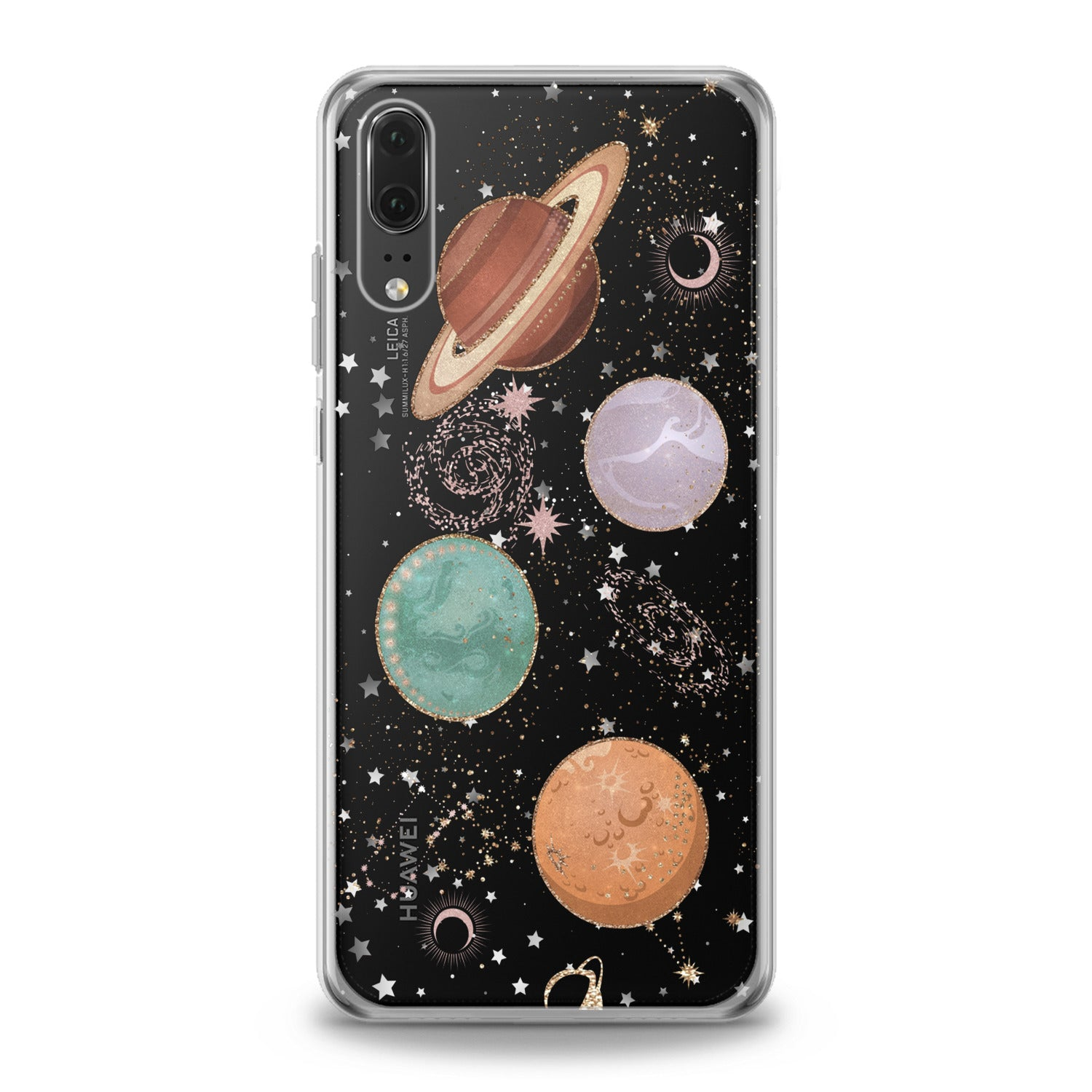Lex Altern Shiny Planets Huawei Honor Case