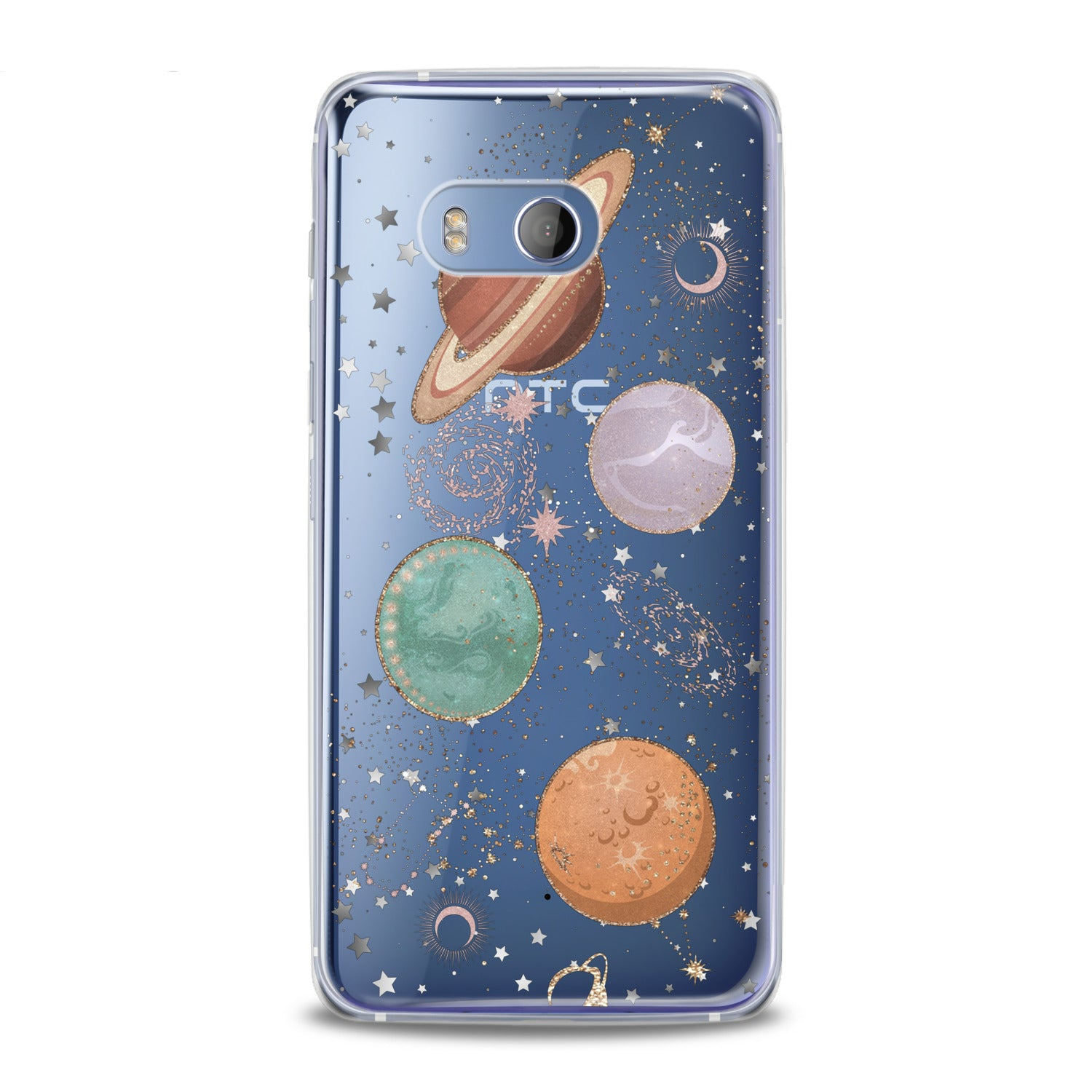 Lex Altern Shiny Planets HTC Case