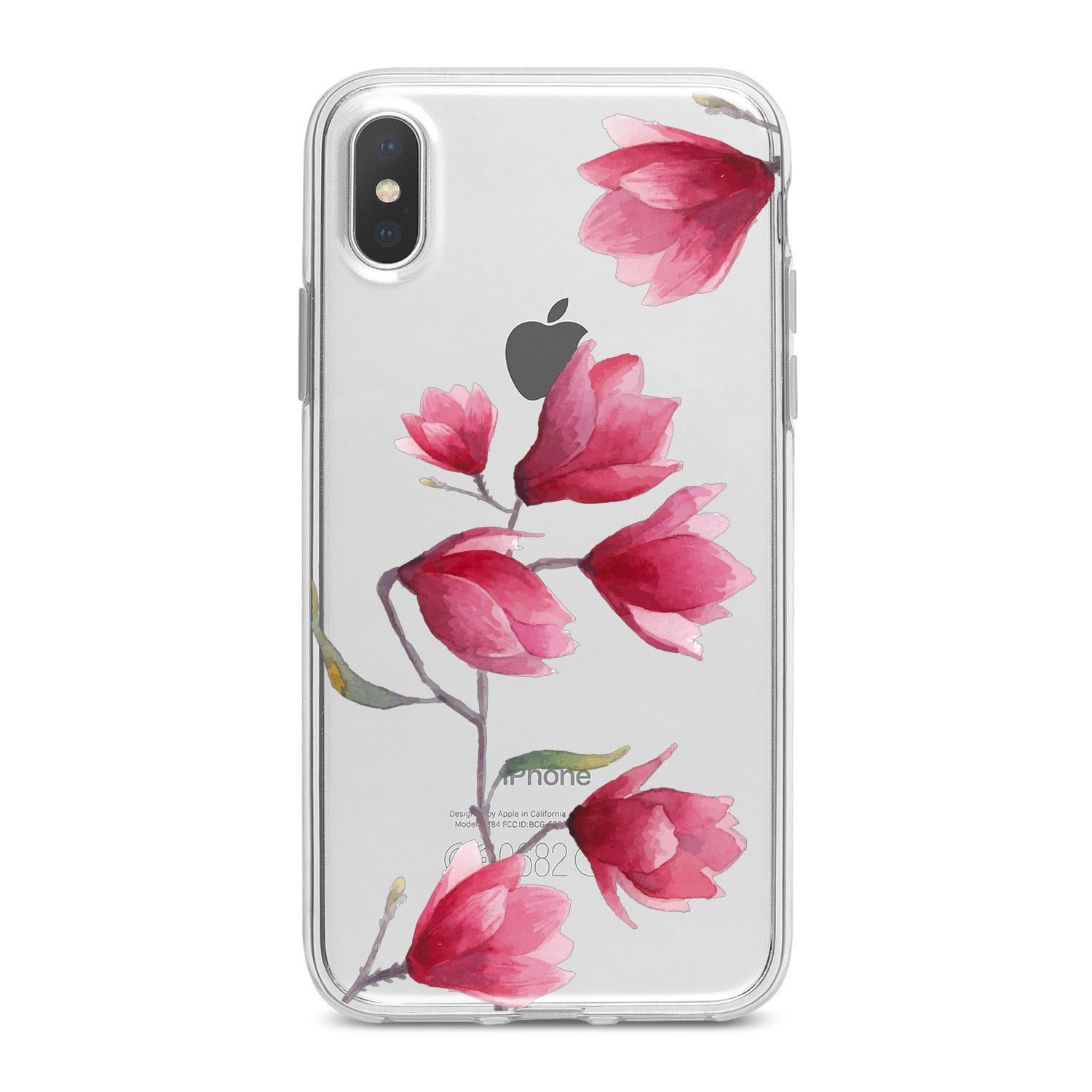 Lex Altern Magnolia Flowers Phone Case for your iPhone & Android phone.