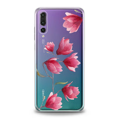 Lex Altern Magnolia Flowers Huawei Honor Case