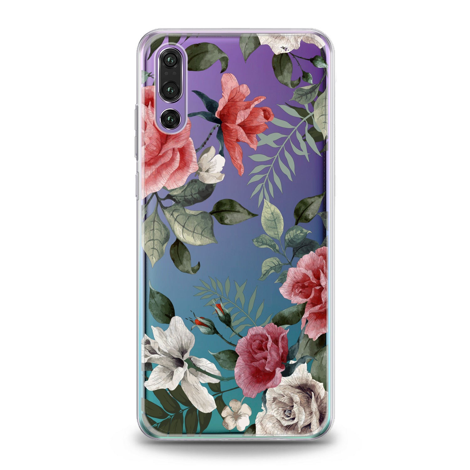 Lex Altern Vintage Roses Huawei Honor Case
