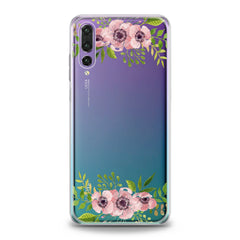 Lex Altern TPU Silicone Huawei Honor Case Pink Flowers