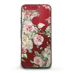 Lex Altern TPU Silicone Phone Case Roses Watercolor