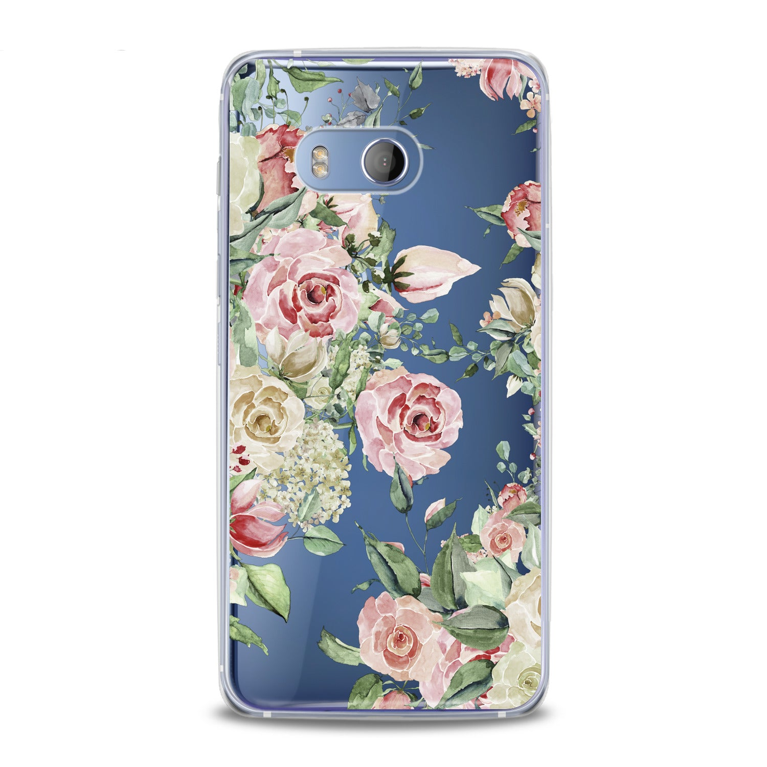 Lex Altern Roses Watercolor HTC Case
