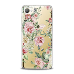 Lex Altern TPU Silicone HTC Case Roses Watercolor