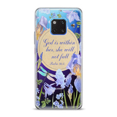 Lex Altern TPU Silicone Huawei Honor Case Bible Quote