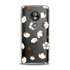 Lex Altern TPU Silicone Phone Case Cotton Flowers